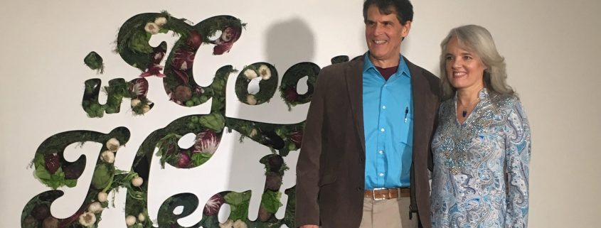 Eben Alexander and Karen Newell